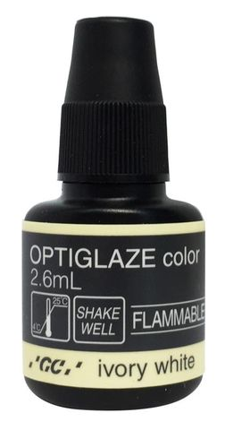 GC Optiglaze Colour Ivory White 2.6mL