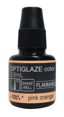 GC Optiglaze Colour Pink Orange 2.6mL