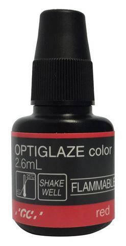 GC Optiglaze Colour Red 2.6mL