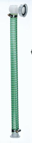 Angle(90deg) Inlet Hose 1&1/2in L500mm for Plaster Trap