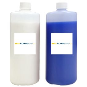 Alphabond Duplicating Silicone 10 White + Blue 2x1kg