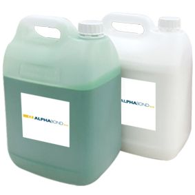 Alphabond Duplicating Silicone 28 White + Green Hard 2x5kg