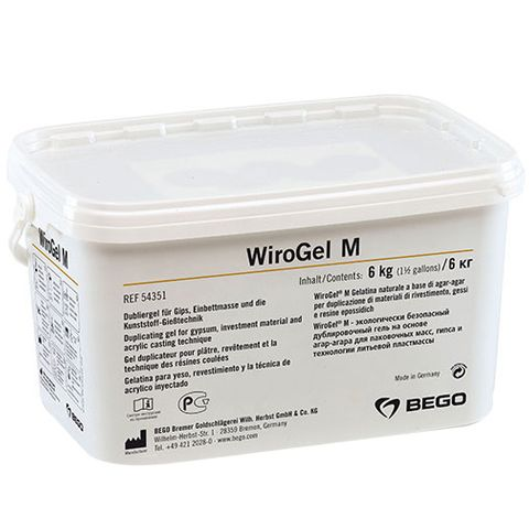 Wirogel M Duplicating Gel 6kg Investment