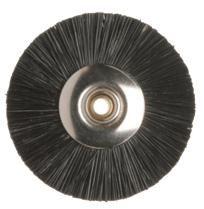 Miniature Brush Black Chungking 22mm