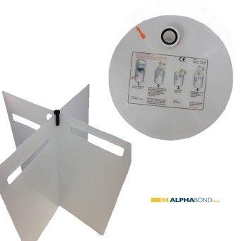 Plaster Trap/Water Separator Upper Lid & Baffle
