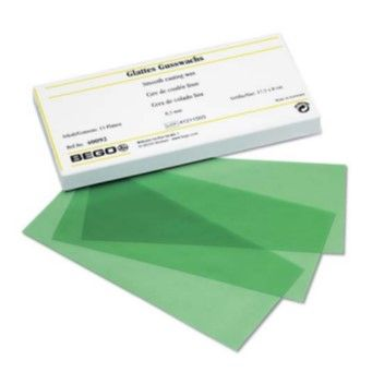 Wax Sheets Fine Smooth 0.3mm Green