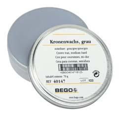 Bego Occlusal Wax Dentine Medium-Hard Grey