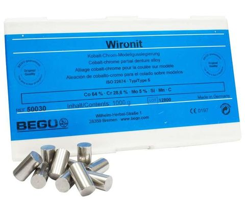 Wironit Cobalt-Chrome 1kg