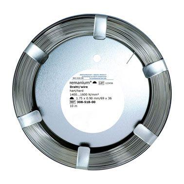 Half Round Wire 1.75 x 0.9mm 10 M