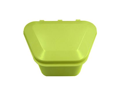Denture Storage Box Lime 12pcs