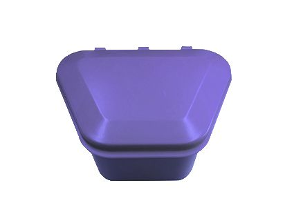Denture Storage Box Lavender 12pcs