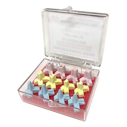Firing Pegs Color Assorted Set 12pcs
