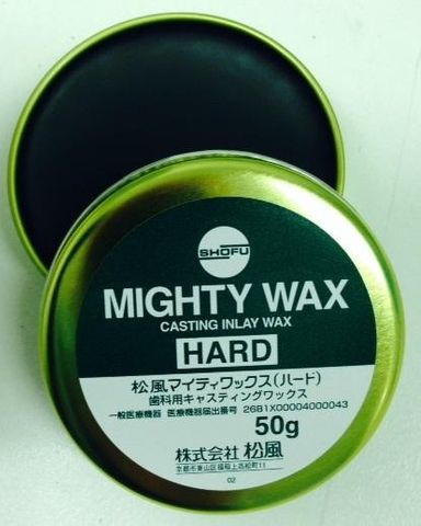 Mighty Wax Hard Green 50g Can