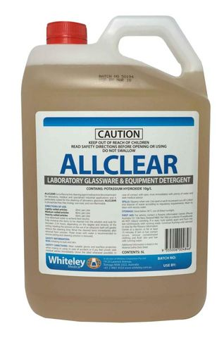 All Clear Cleaning Instruments 5L
