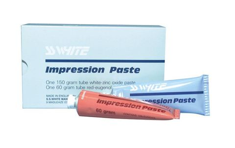 SS White Zinc Oxide Impression Paste B/C