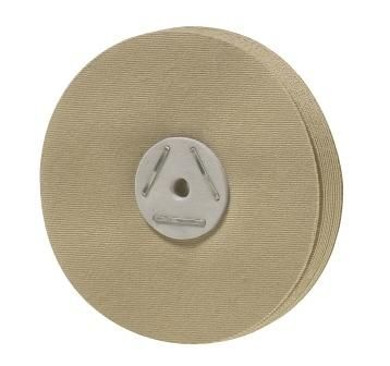Siliconised Linen Buffs 80mm 4pcs