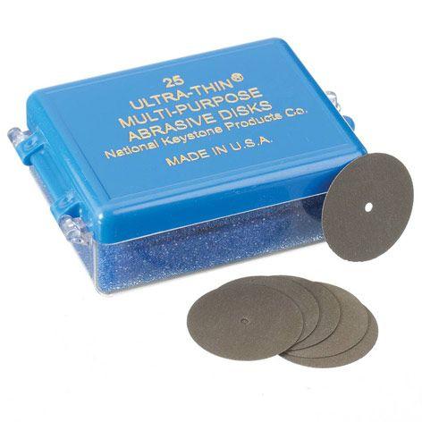 Ultra Thin Abrasive Disks 1300470 25pcs