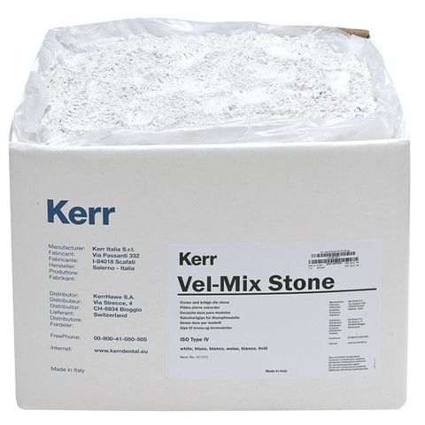 Kerr VEL Mix White Die Stone 15kg