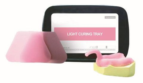 Light Cure Tray Material