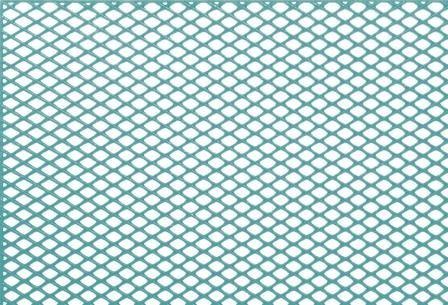 GEO Diagonal Grid Turquoise 70 x 70mm