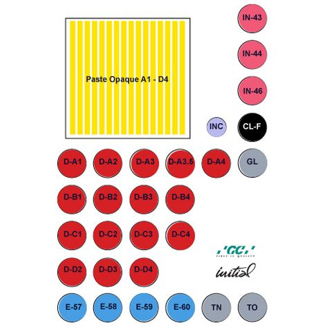 GC Initial MC Basic Set With Paste Opaque