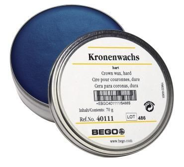 Bego Crown Wax Hard Blue 70g