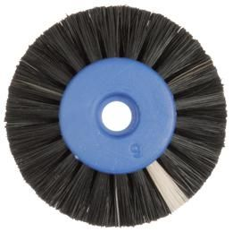 Polishing Brush Black 2 Row 50mm DIA