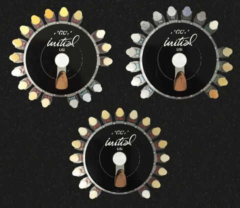 GC Initial LiSi Shade Guide 3 x CD Set