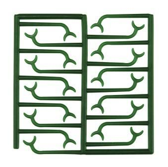 Wax Patterns For Bonyhard Clasps 10pcs