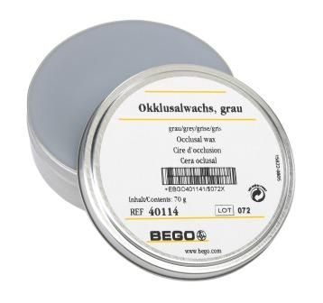 Bego Occlusal Wax Grey 70g