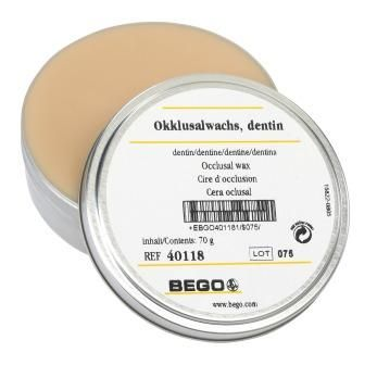 Bego Occlusal Wax Dentine Ivory 70g