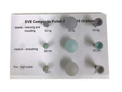 EVE Composite Polish Set 9pcs