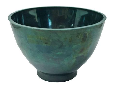 Green Mixing Bowls Small Flexible 350cc
