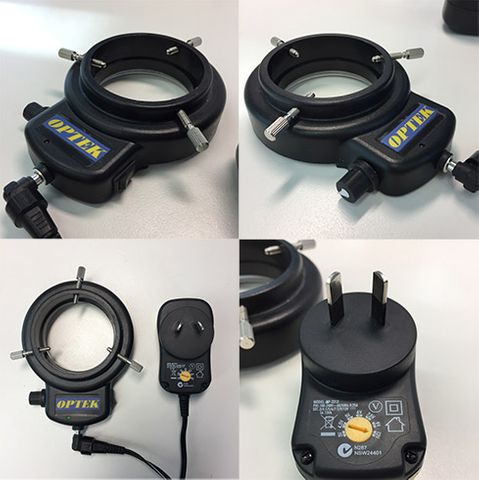 LED Ring Light for DMF10 + Power Supply