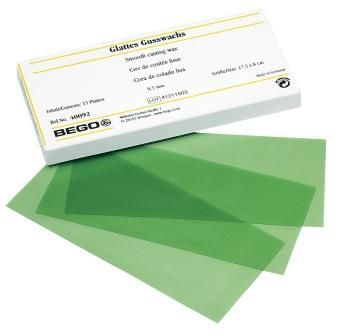Wax Sheets Fine Smooth 0.2mm Green