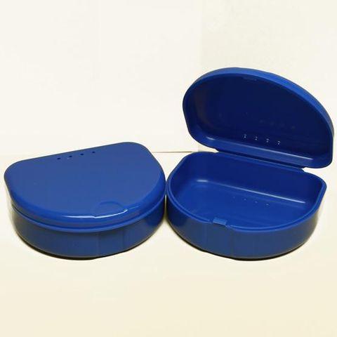 Mouthguard Box Dark Blue 12pcs