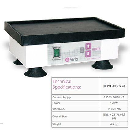 Sirio Vibrator Medium 40 Hertz 15x23cm