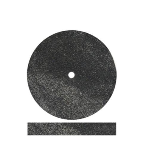 Black Rubber Wheels 22mm x 3mm 100 pieces
