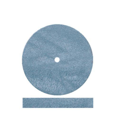 Blue Rubber Wheels 22mm x 3mm 100 pieces