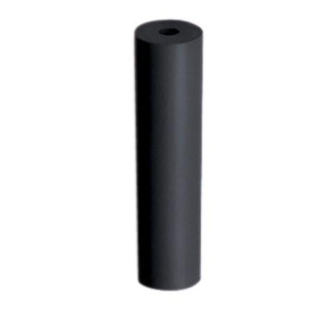 Black Rubber Cylinders Hard Chrome