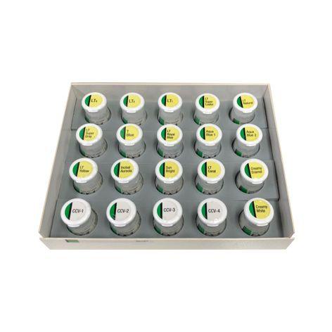 EX3 Luster CCV Porcelain Kit 200g 20x10g