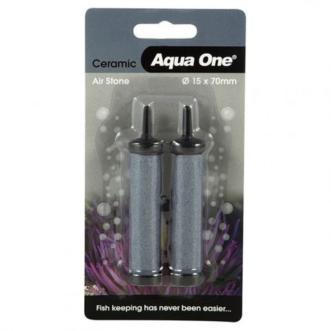 Aqua One Air Stone Ceramic Twin 15x70mm