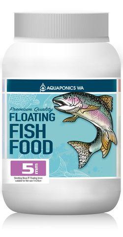 Aquaponics WA 5mm Floating Fish Food