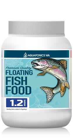 Aquaponics WA 1.2mm Floating Fish Food