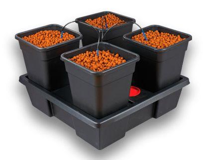 Wilma 4 Pot Kit Large 50L 75x75x20cm
