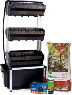 Vertical Wall Garden Kit 6 Pot