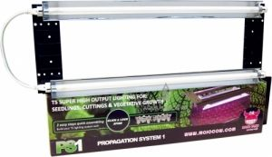 Mojo Cow PS1 Propagation System 2x24W T5 Fluorescent Lamps 6400K White
