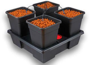 Wilma 4 Pot XL Kit 70L 90x90x20cm