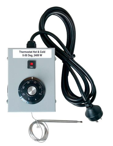 Seahawk Thermostat Controller - 2400W - Hot & Cold 0 - 50 degrees