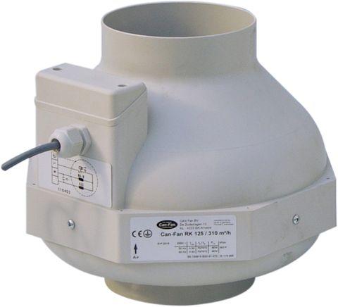 Can-Fan RK125 310m³/h 60W
